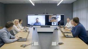 Teleflex boardroom with AV installed by Digicom