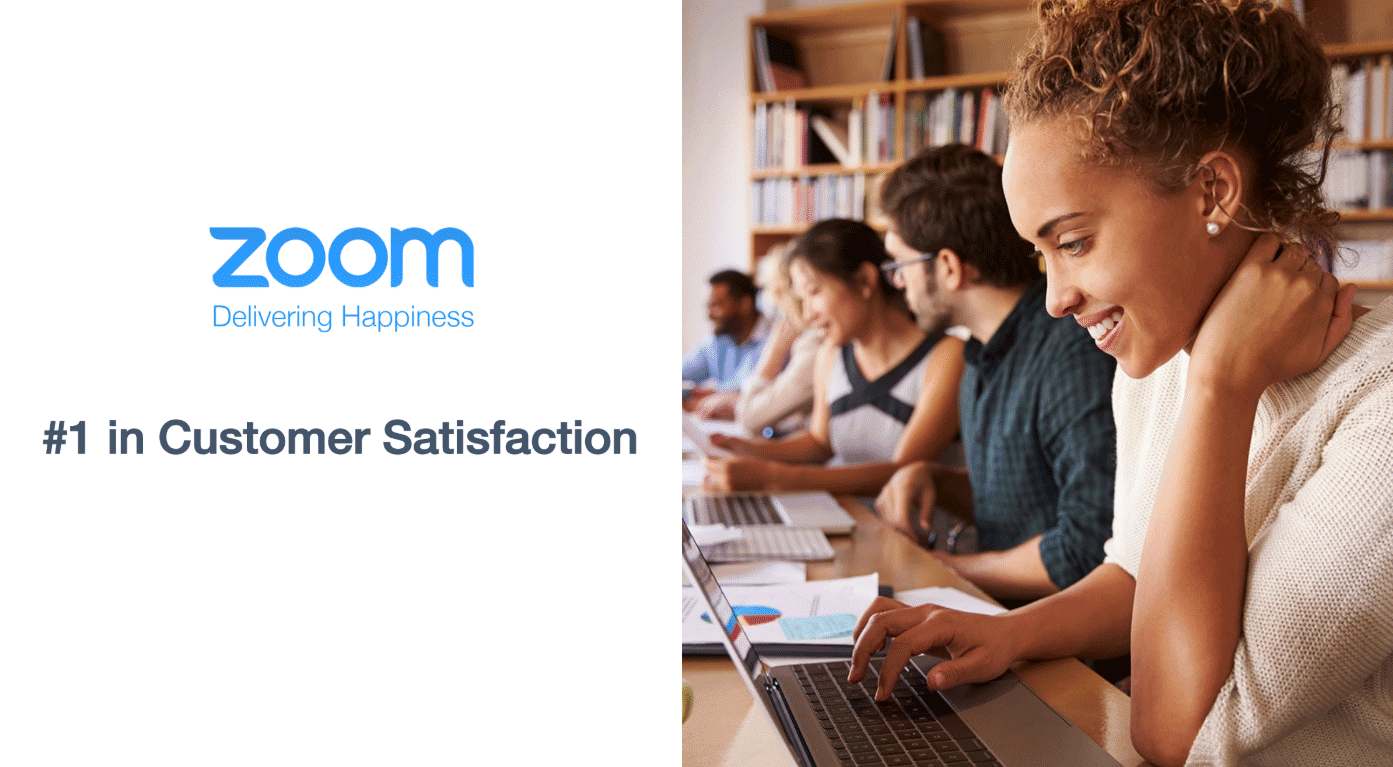 It's time to try Zoom, #1 in Customer Satisfaction for Video Conferencing