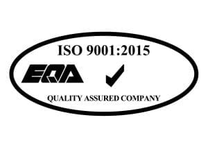 Digicom is ISO 9001:2015 certified