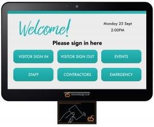 Visitor Management System with Digicom