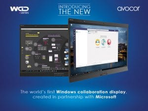 Microsoft Windows Collaboration Display with Avocor