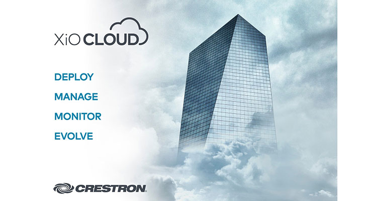 Crestron XiO Cloud: where AV meets IoT