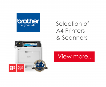 A4 printers and scanners from Brother