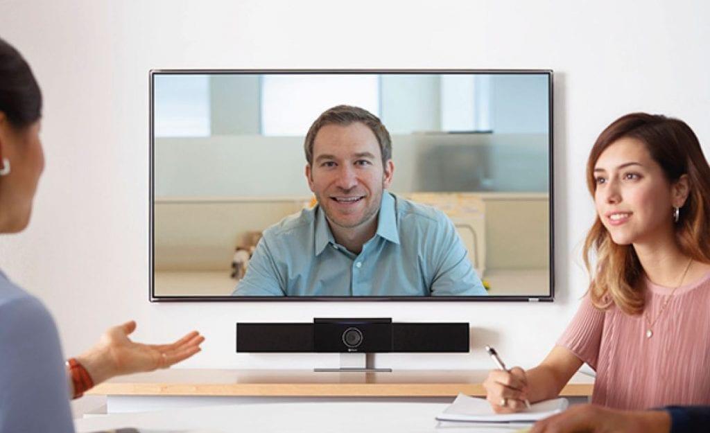 polycom-studio-video conferencing-huddle space