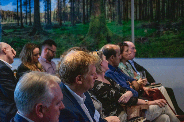 Attendees at Digicom Collaborative Workplace Event on 18 Sept