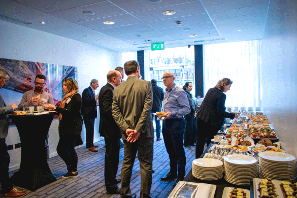 Digicom Business Lunch at the Marker Hotel Dublin on 18 Sept