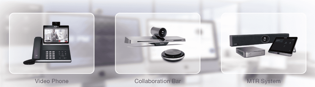 Yealink video phone-collaboration bar-mtr