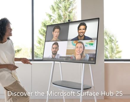 Discover Microsoft Surface Hub 2S 438 w